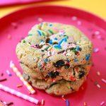 Birthday Cake Oreo Chip Cookies - OMG Good!