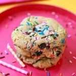 Birthday Cake Oreo Chip Cookies - OMG Good!