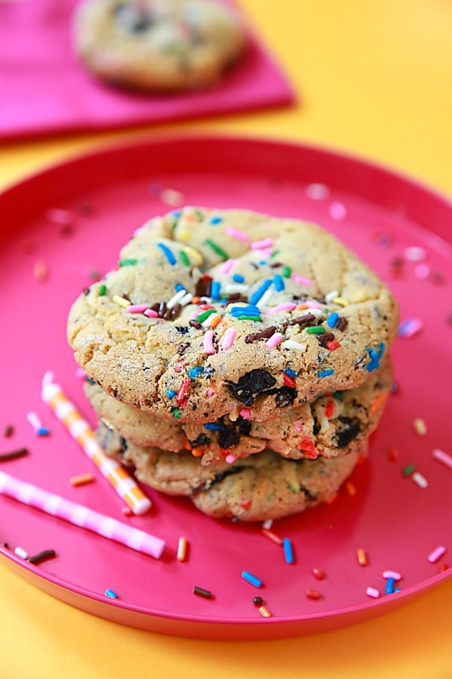 MustTry Recipe Birthday Cake Oreo Cookies Pizzazzerie