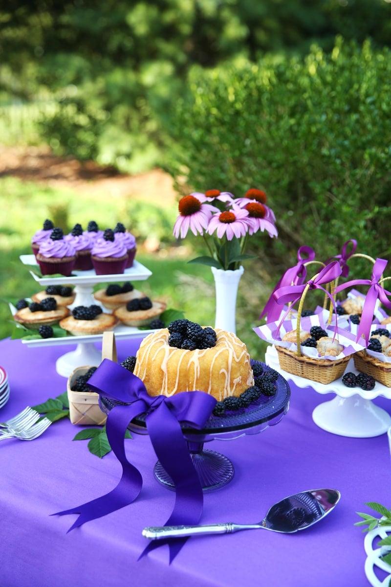 Blackberry Summer Treat Table!