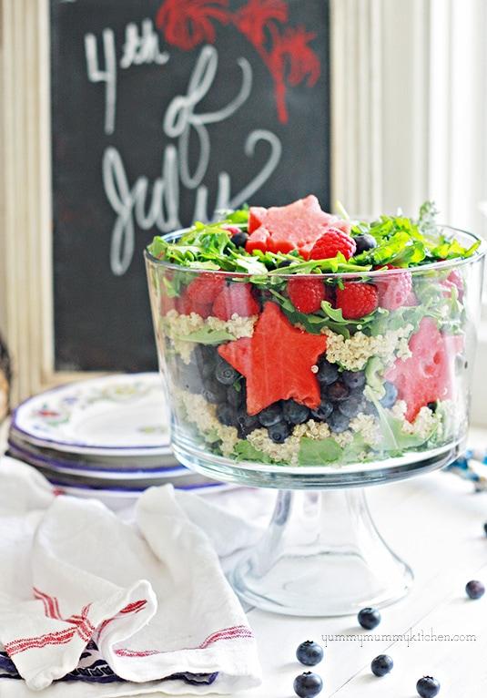 4th of July Layered Salad