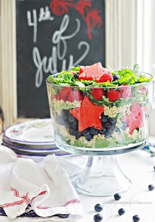 4th of July Layered Salad