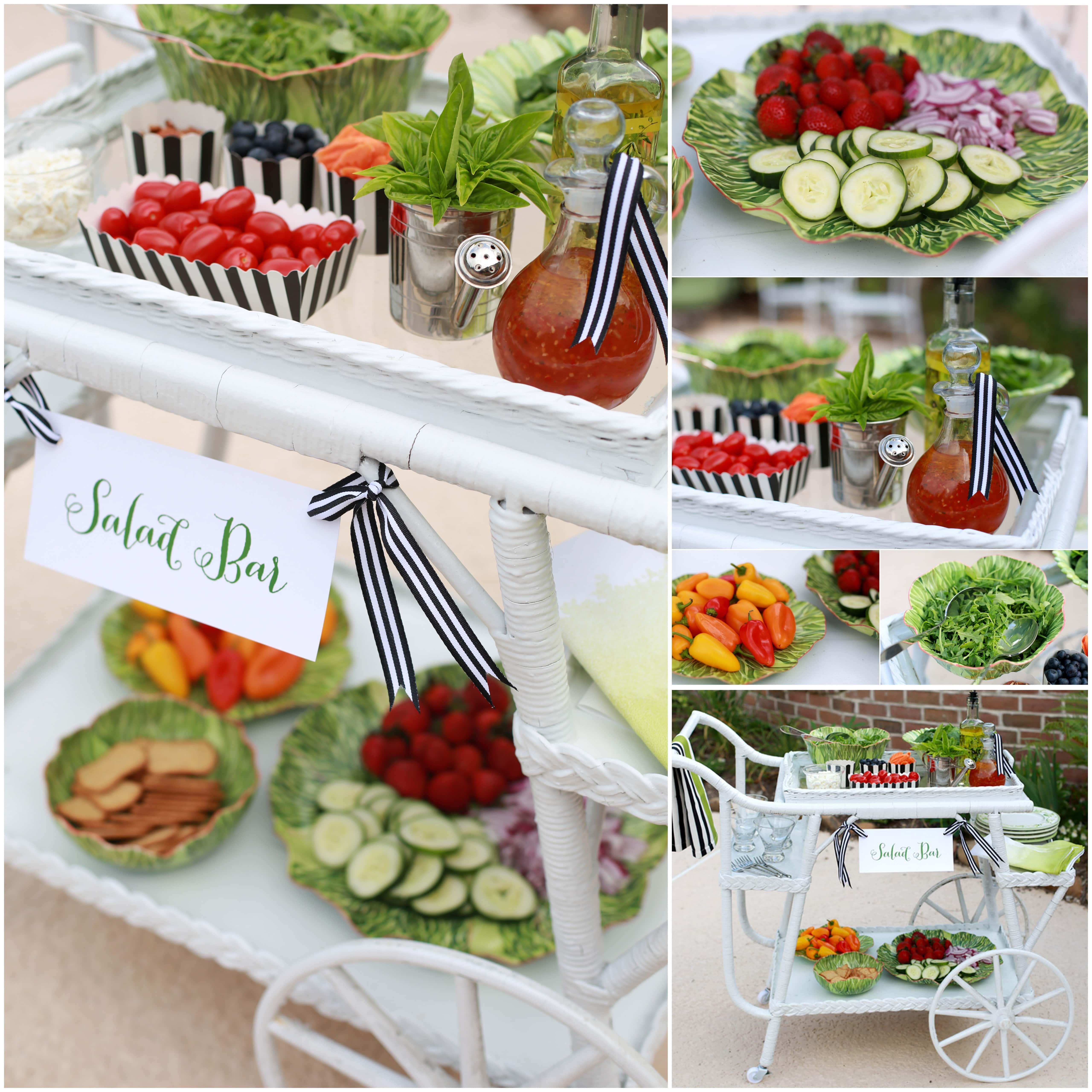 Build a Summer Salad Bar! Idea to SAVE!