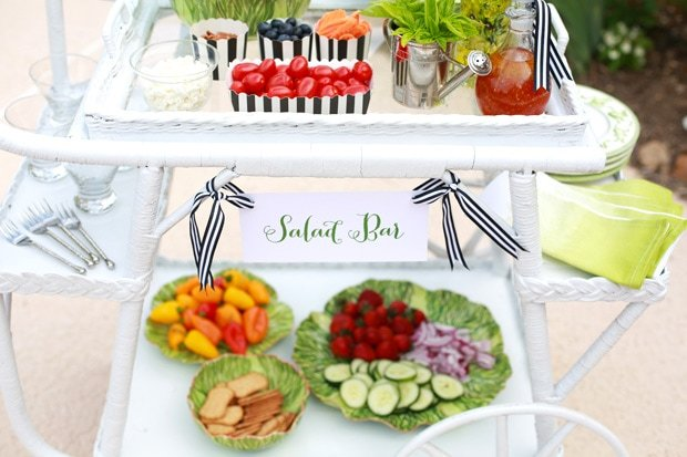 Build a Stylish Summer Salad Bar!