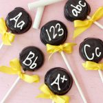 Back to School Chalkboard Pops from Pizzazzerie.com