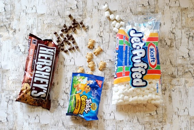 "How to make ""walking smores""!"