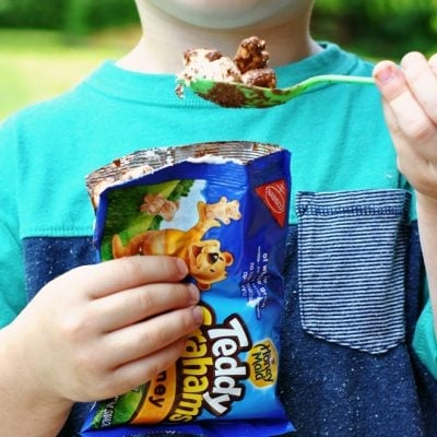 "Similar to ""walking tacos"", try these walking smores!"