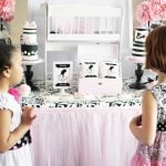 Adorable Pink Dollhouse Tea Party!