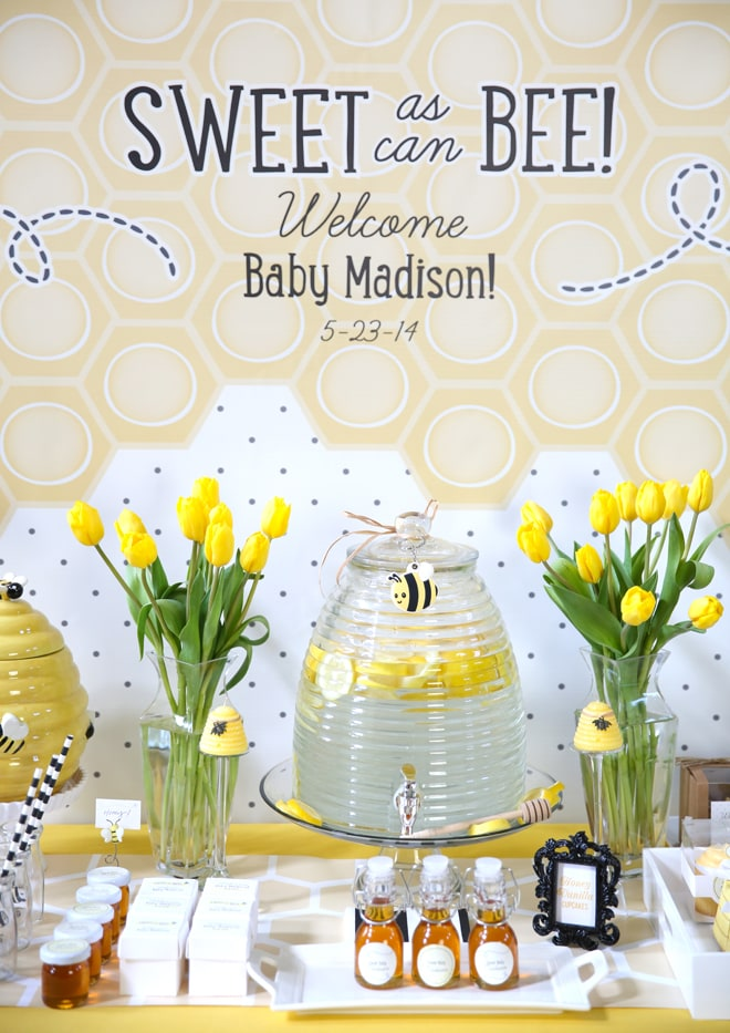 Sweet as can BEE Baby Shower!
