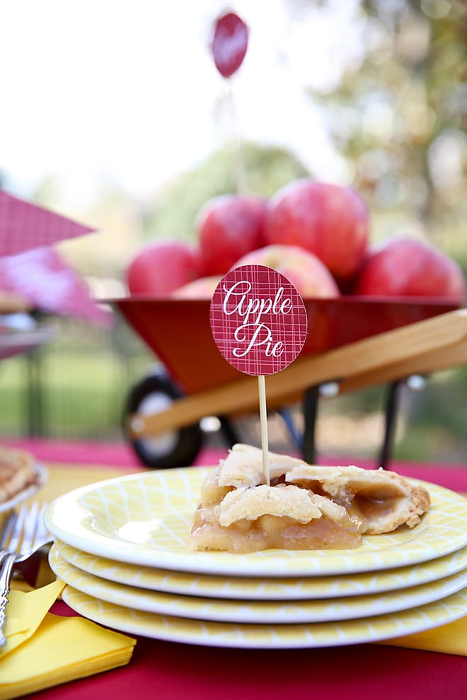 Throw an Apple Pie Party! Tips and ideas from pizzazzerie.com!