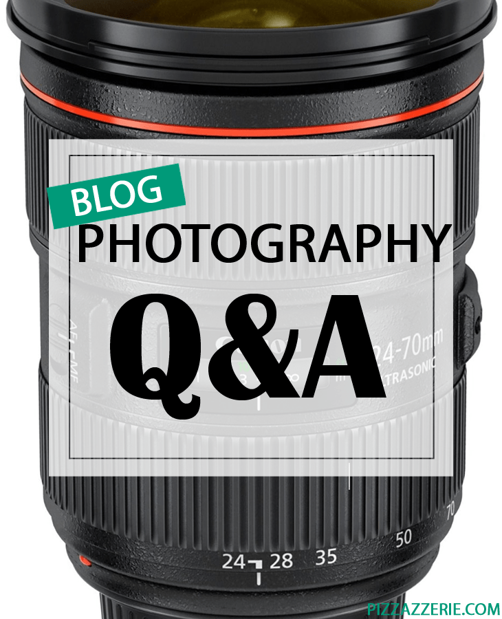 Tips for blog photography - cameras, tripods, lenses