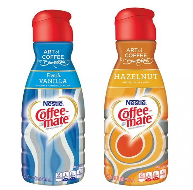 Coffee-Mate's Limited Edition Bottles by David Bromstad