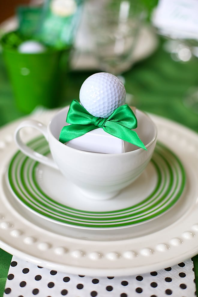 """Host a Golf """"Tee"""" Party from Pizzazzerie"""