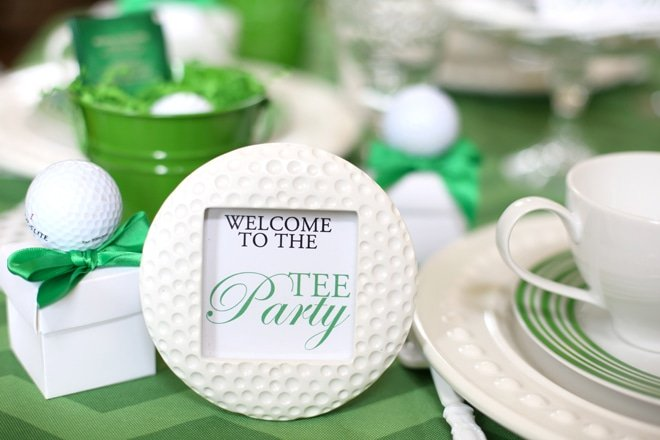 "Host a Golf ""Tee"" Party from Pizzazzerie"