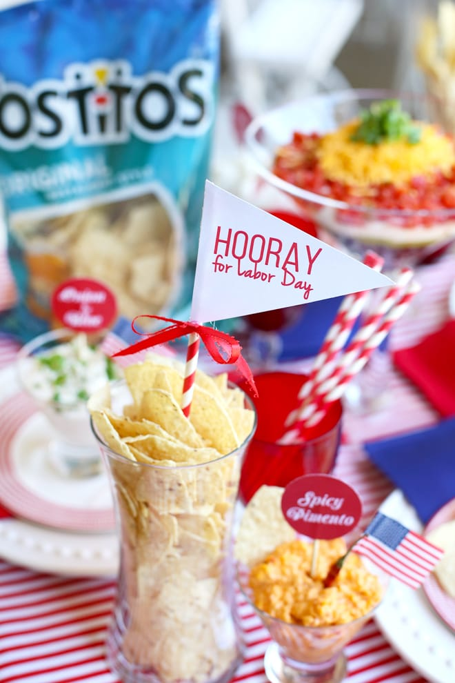 Hooray for Labor Day! #tostitoslaborday