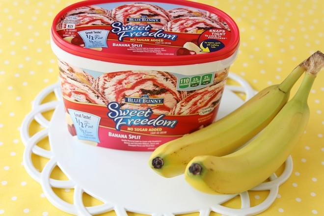How to make easy and cute banana split bite desserts