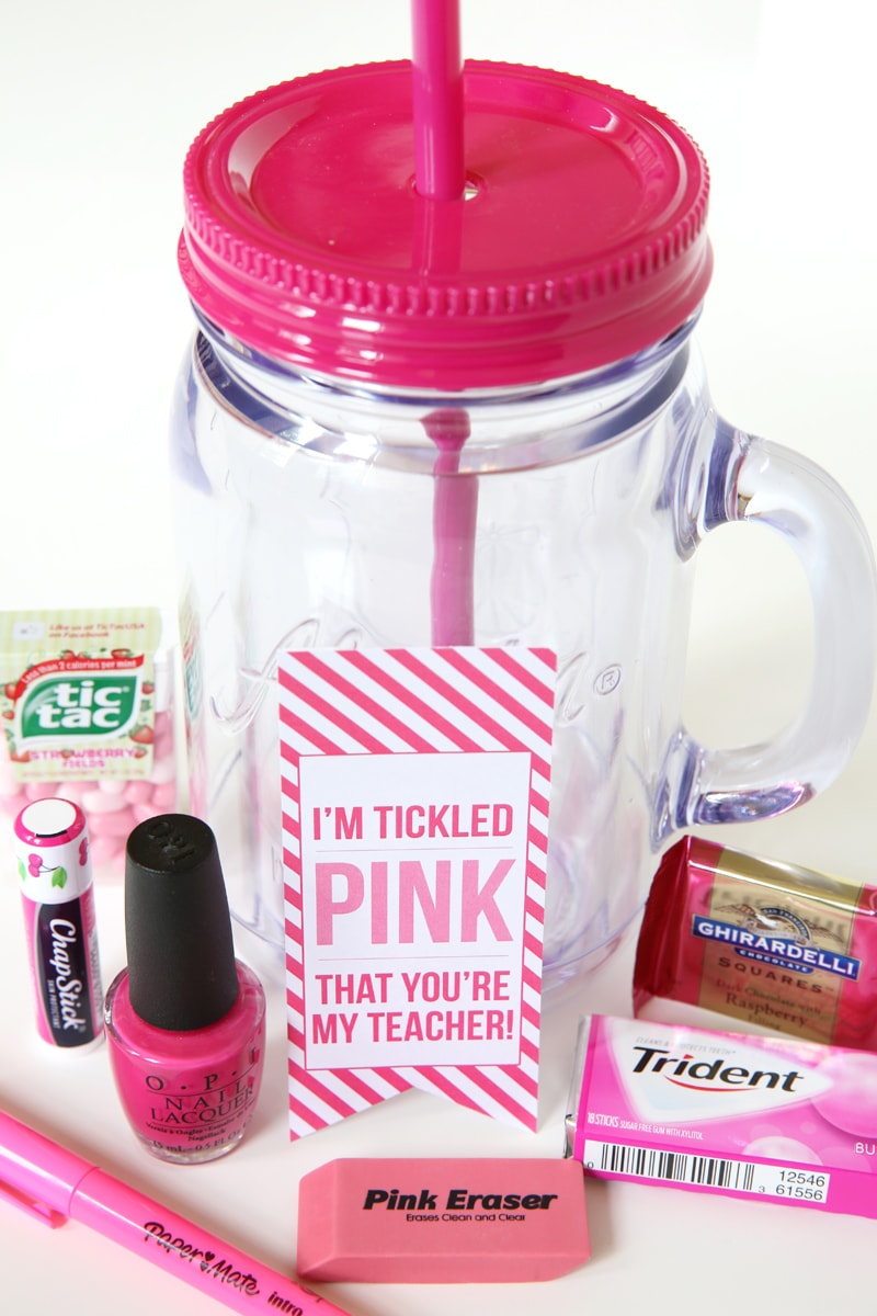 """I'm """"Tickled Pink"""" That You're My Teacher 