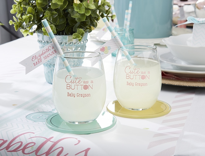 Sips at a baby shower!