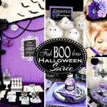 "Fa""BOO""lous Purple Halloween Birthday Party"