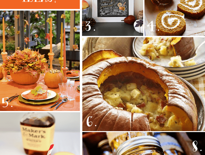 10 Fall Entertaining Ideas