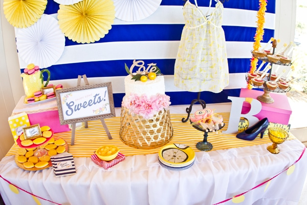 Party Feature: Preppy Lemon Bridal Shower