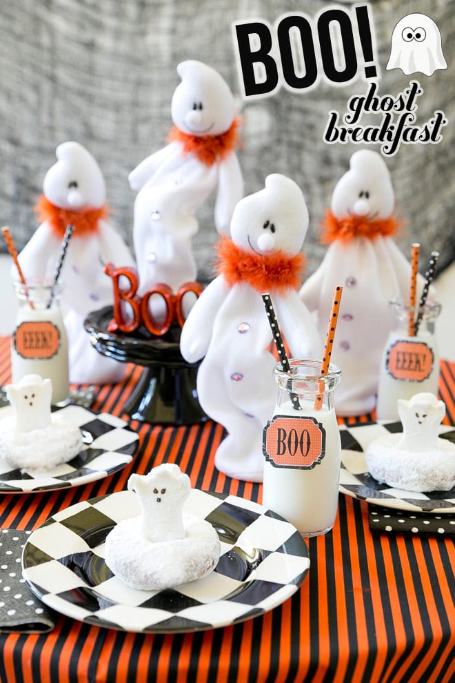 Host a Ghost Brunch Party! Pizzazzerie.com