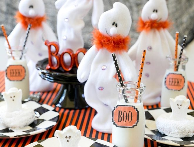 Host a Cute Ghost-Themed Halloween Breakfast!