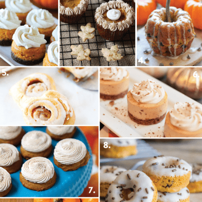 Top 10 Mini Pumpkin Desserts!