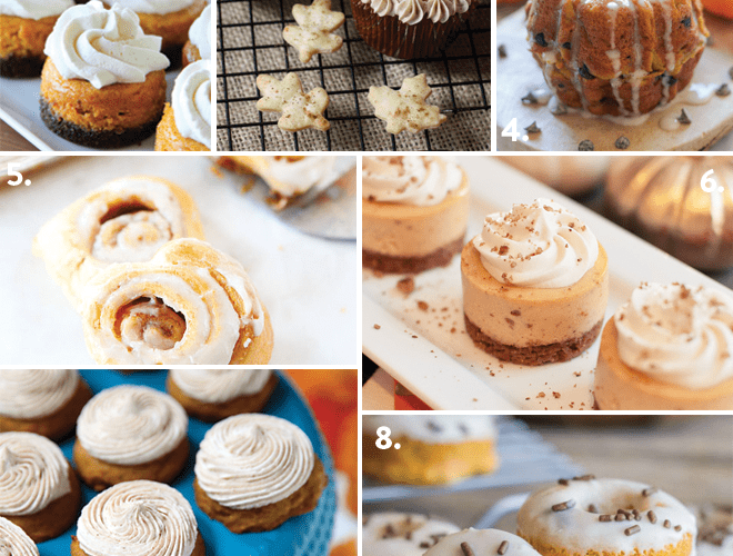 Top 10 Mini Pumpkin Desserts