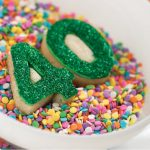 How to make decorated number cookies!