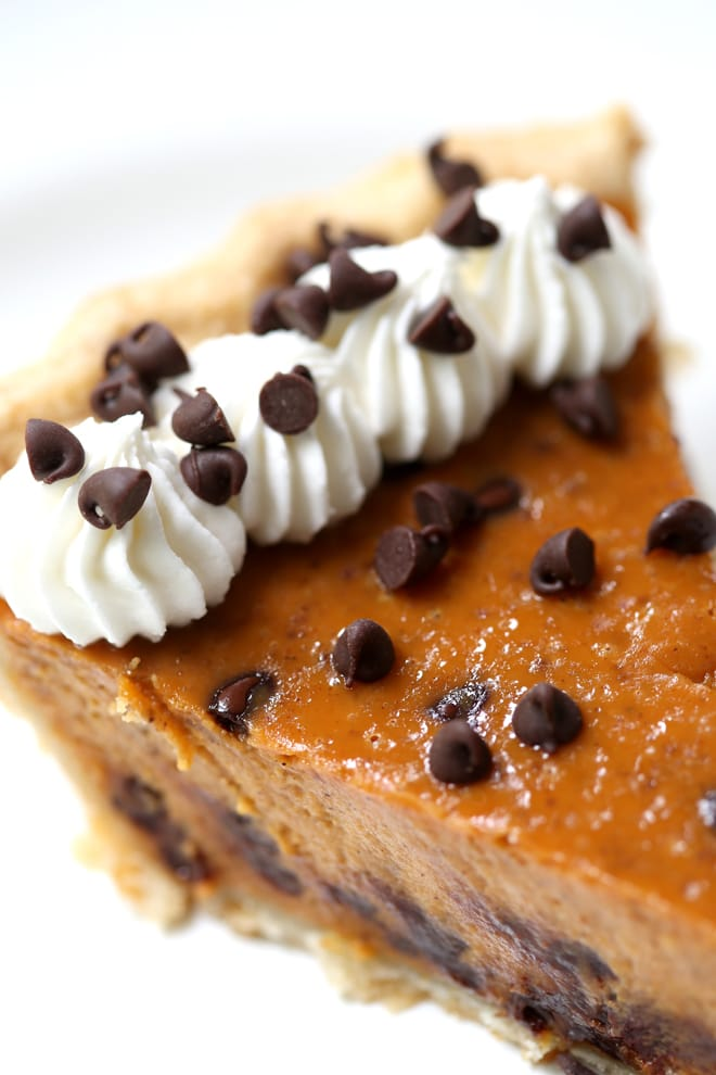 Chocolate Chip Pumpkin Pie Recipe!