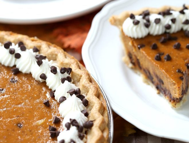 Chocolate Chip Pumpkin Pie Recipe