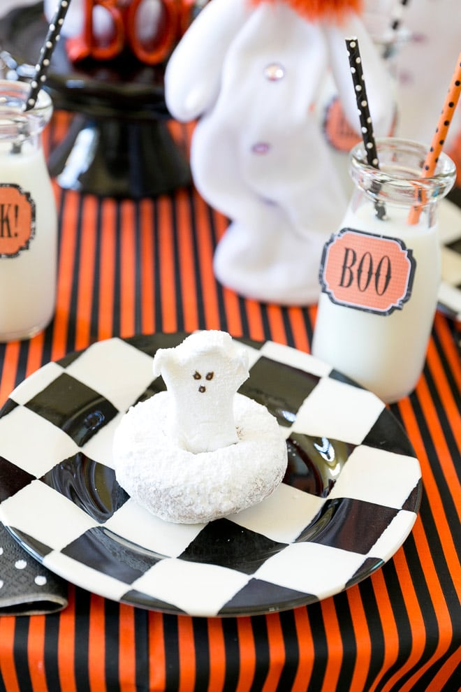 Super cute Ghost Halloween Breakfast Party!