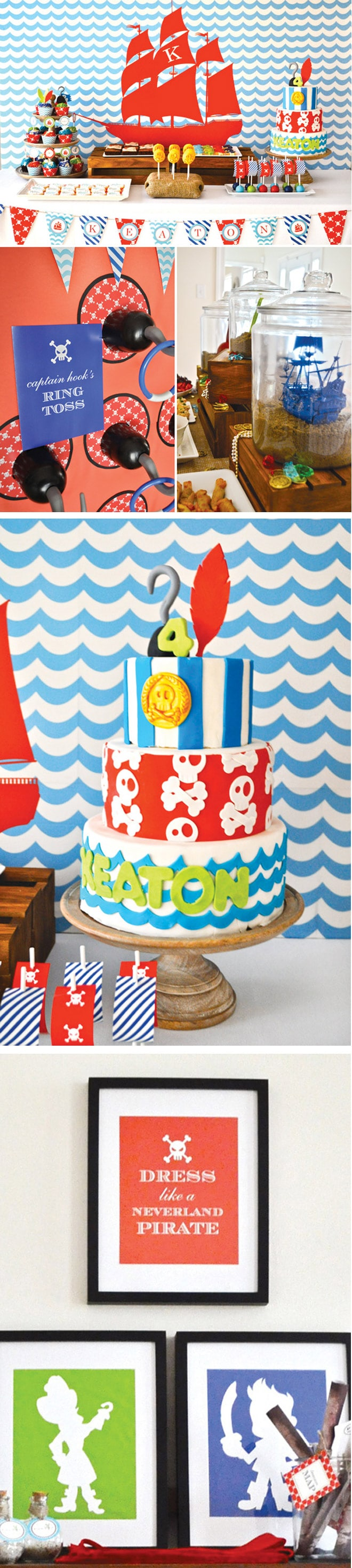 Jake and the Neverland Pirates Party // Party ideas!