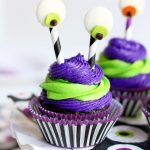 Silly Monster Halloween Cupcakes