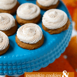 The most delicious pumpkin cookies with cinnamon buttercream frosting! Pizzazzerie.com