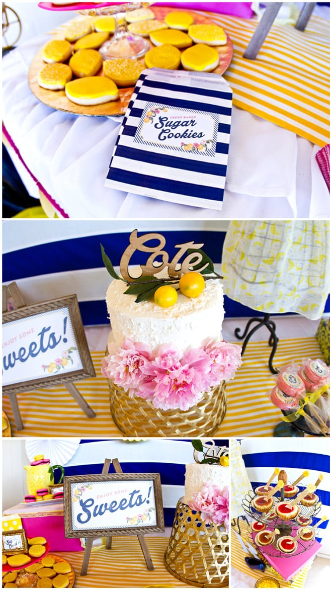 Bridal Shower Inspiration: Preppy Lemon Shower!