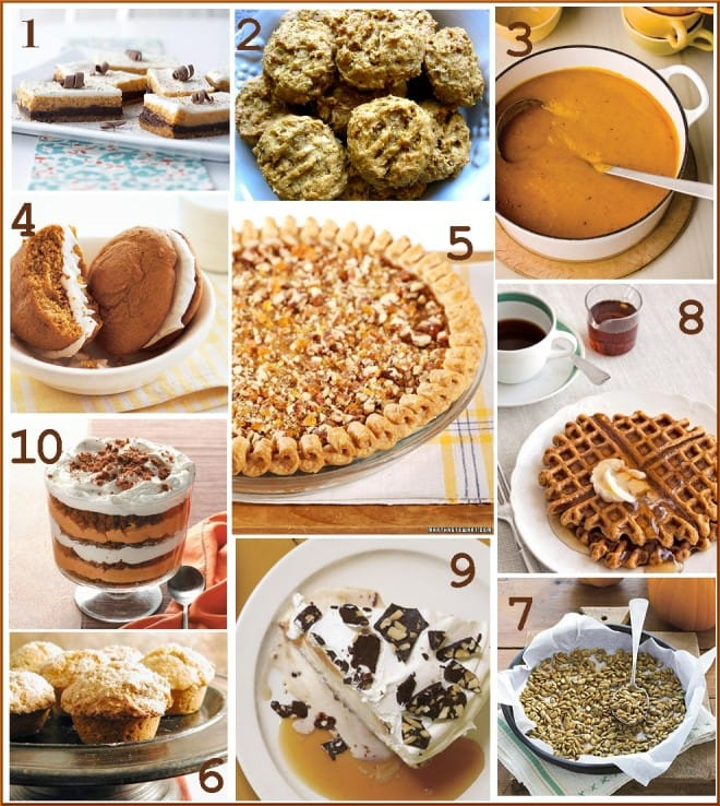 Top 10 Pumpkin Recipes