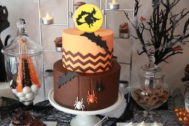 Love this Halloween Chocolate Cake