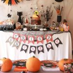 """Love this Halloween Party, it had a """"chocolate bar"""" for kids and such cute easy ideas!"""