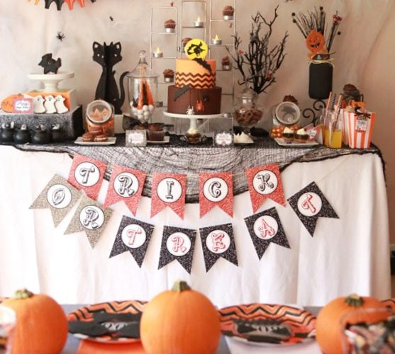 "Halloween ""Chocolate Bar"" Party!"