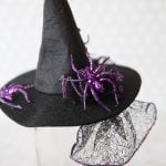 DIY Witch Fascinator Hats