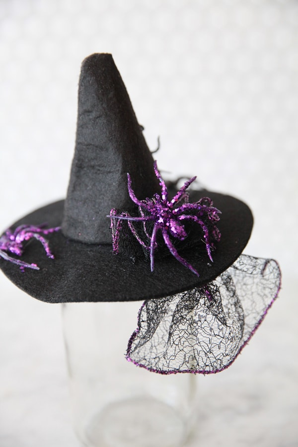 DIY Witch Fascinator Hats | Pizzazzerie
