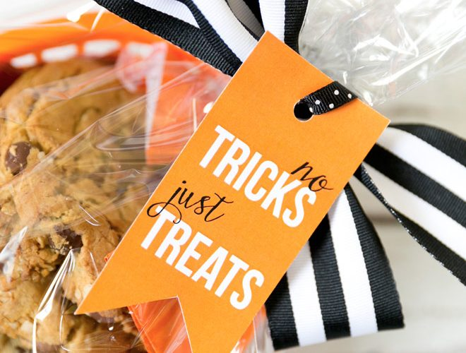 {Freebie} Halloween Treat Gift Tag