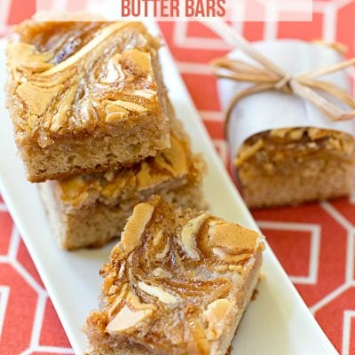 Apple Cinnamon Butter Bars - My family's favorite! Pizzazzerie.com