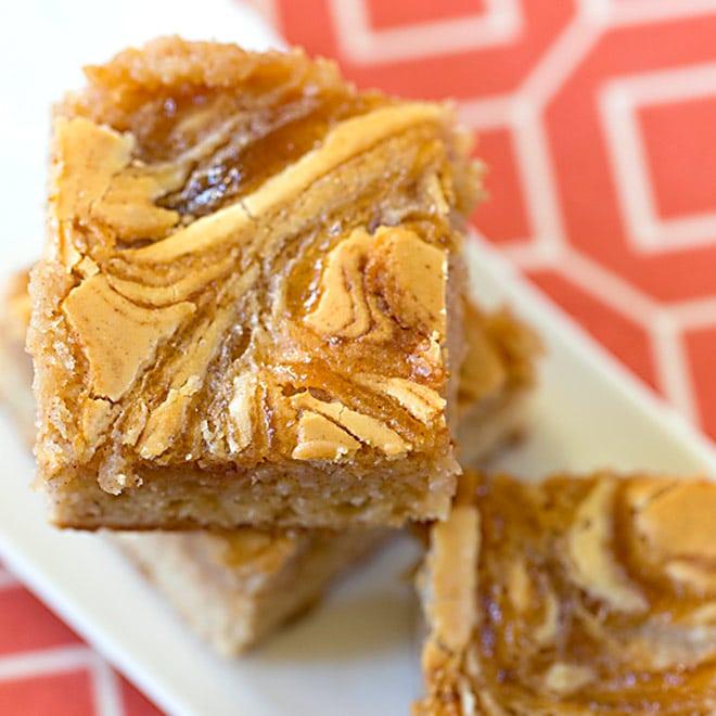 Apple Cinnamon Butter Bars