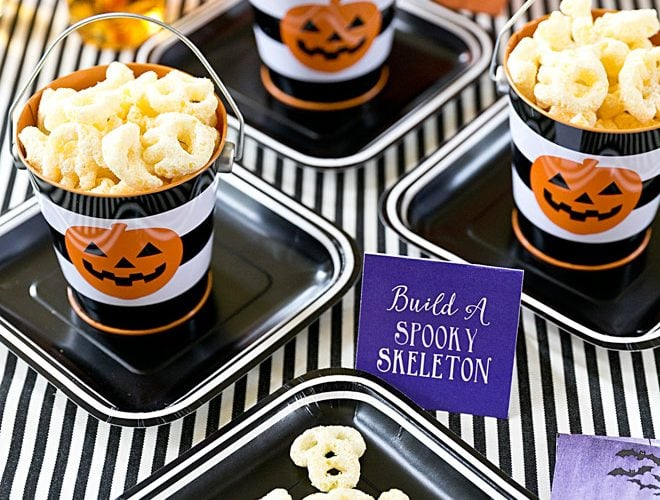 """Build a Spooky Skeleton"" Halloween Party"