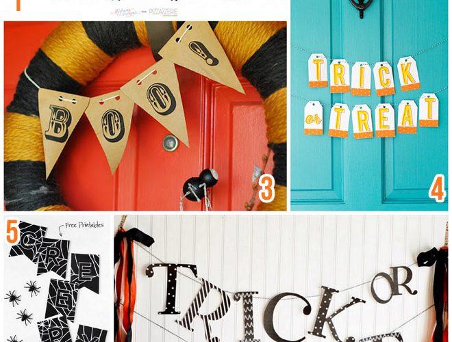 7 Free Printable Halloween Banners