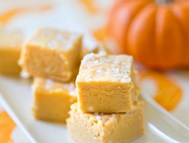Salted Pumpkin Fudge Recipe