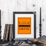 Free Wicked Witch Halloween Printable Decor!